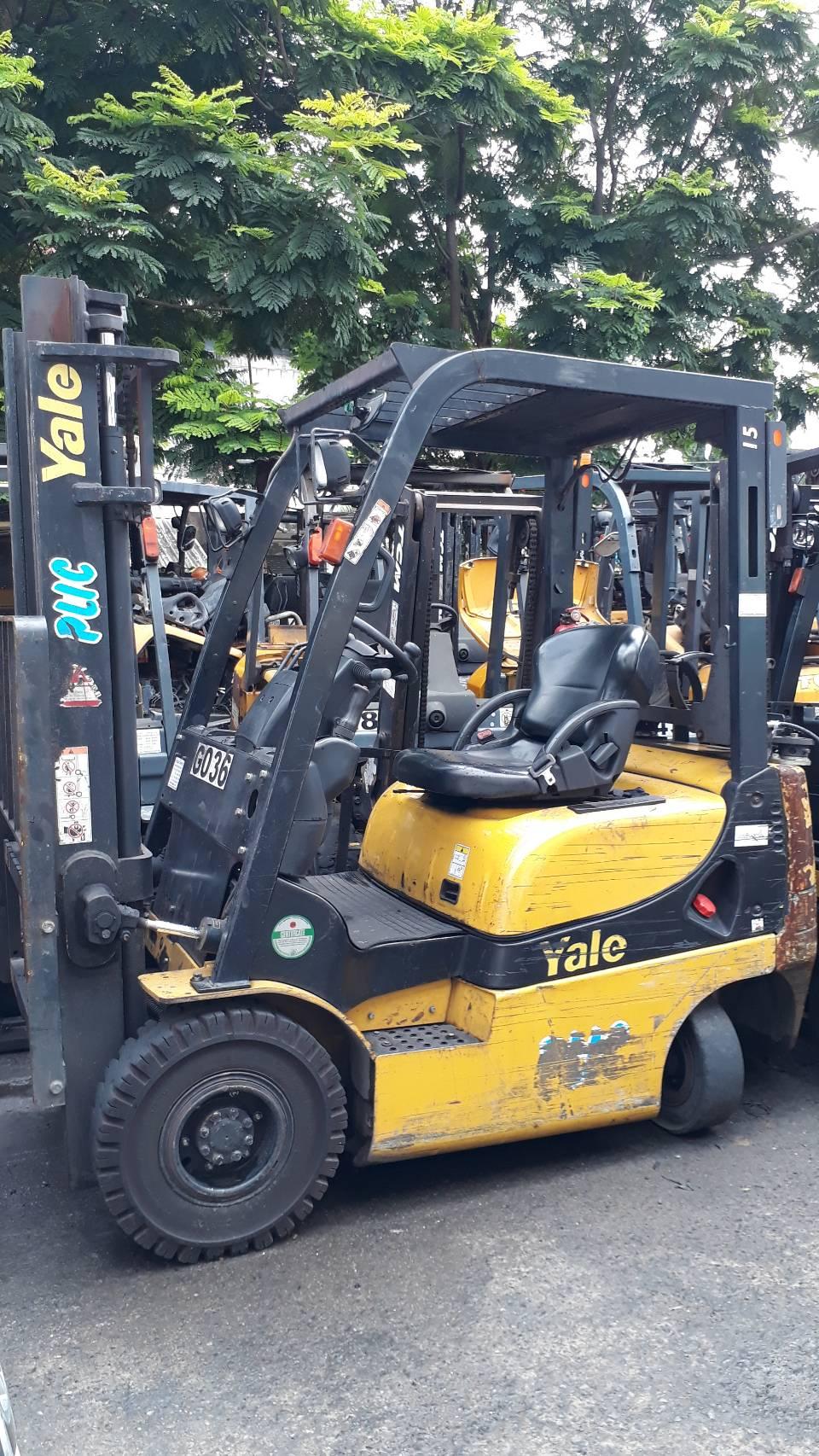 YALE FORKLIFT COUNTER GTP15AK-V300, LPG, 1.5 Ton
