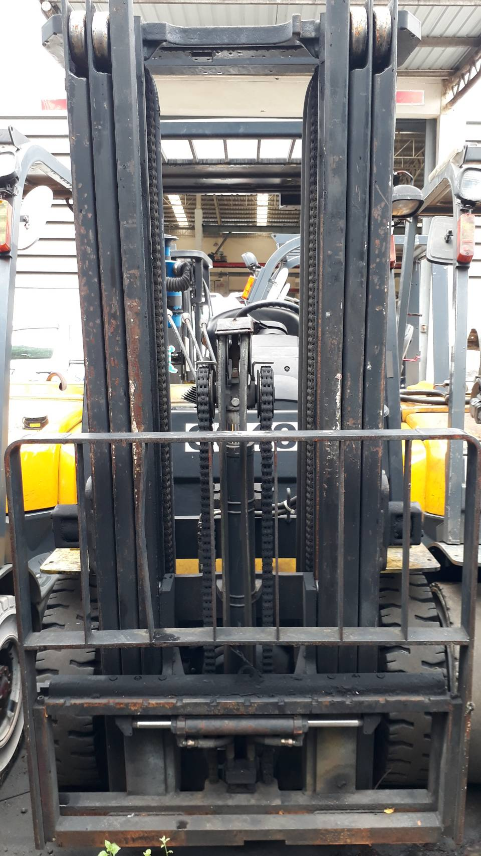 YALE FORKLIFT COUNTER GTP25RK-TF450, LPG, 2.5 TON