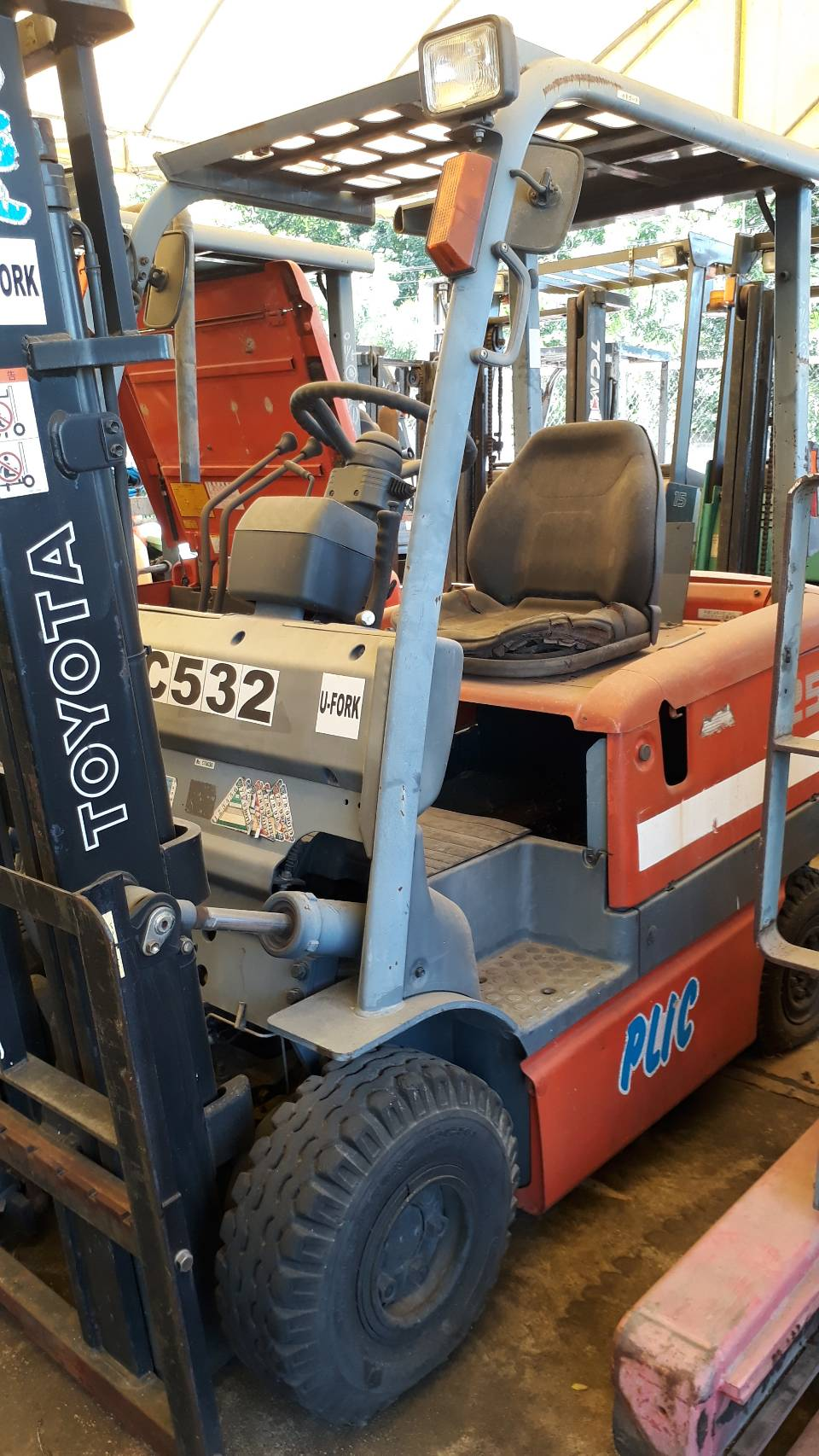 TOYOTA FORKLIFT COUNTER 6FBL25-V300, BATTERY, 2.5 Ton