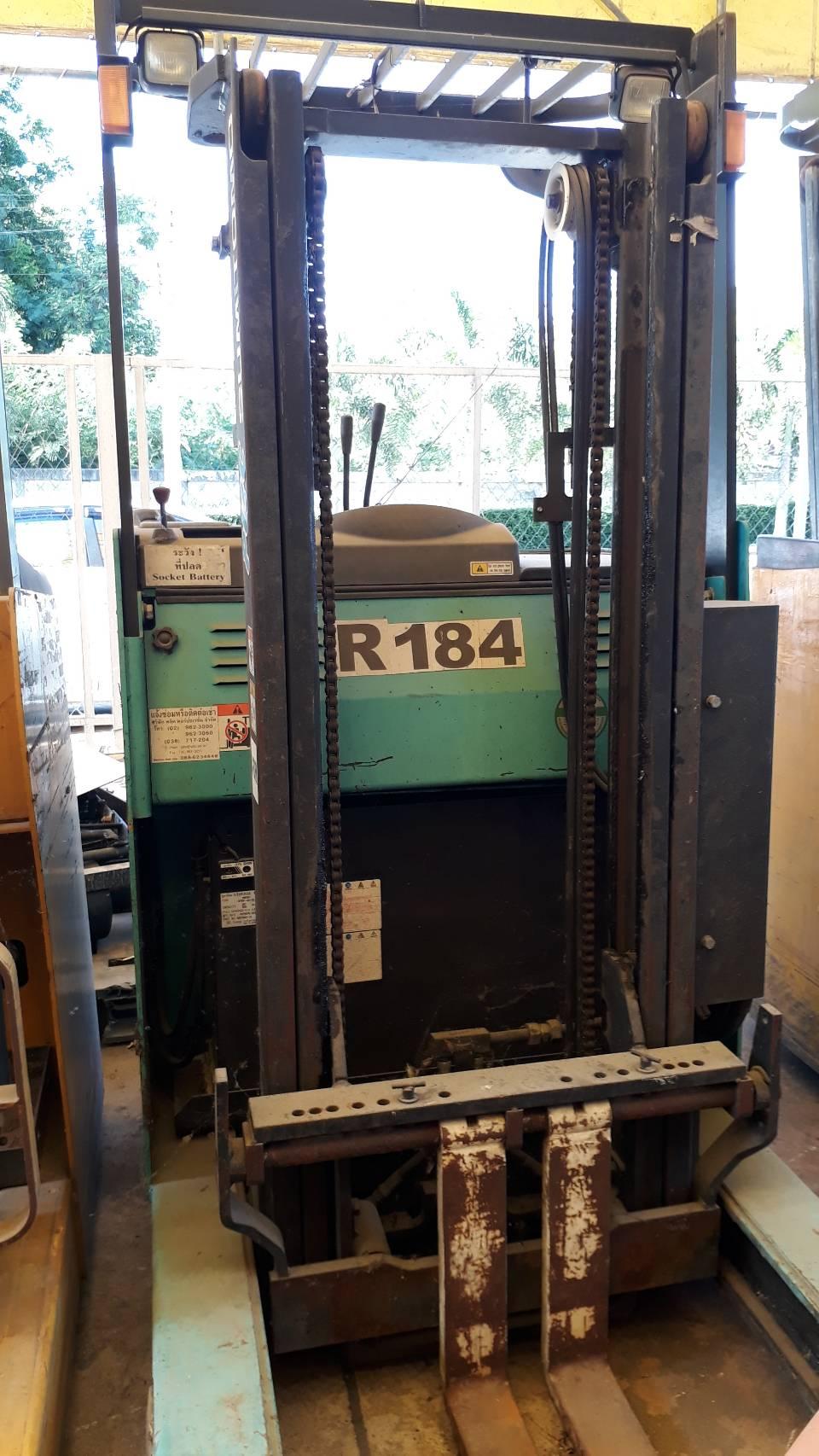 SUMITOMO FORKLIFT REACH 8FBR10X-300, BATTERY, 1 Ton