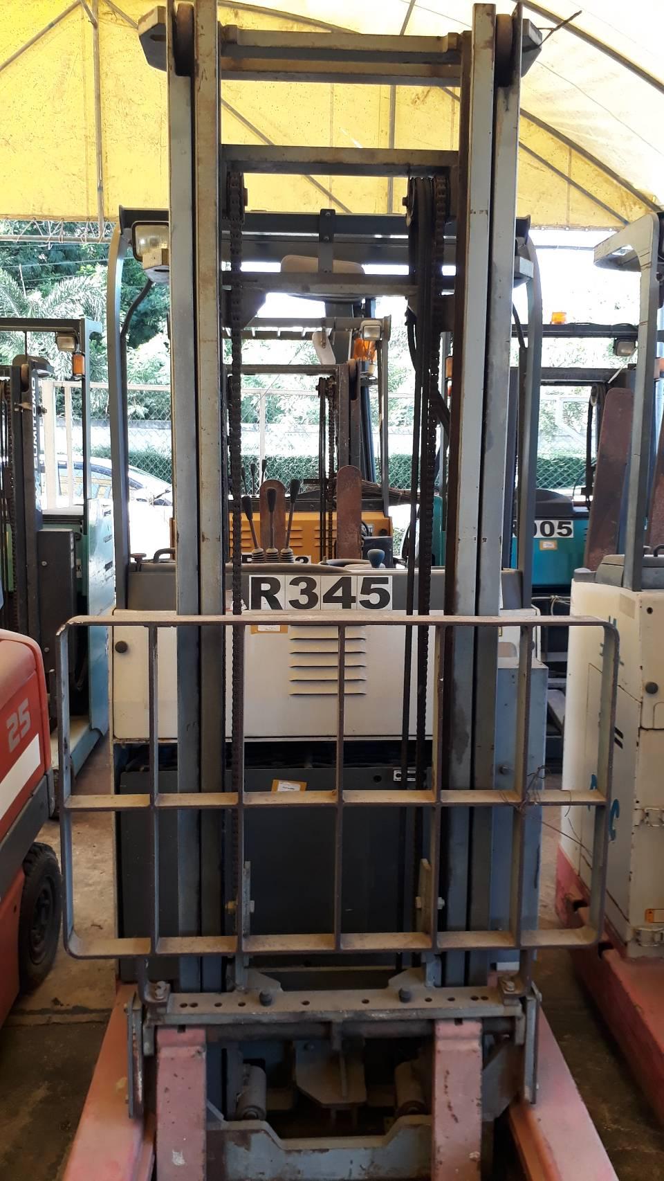 NICHIYU FORKLIFT REACH FBRM13H-75-500M, BATTERY, 1.3 Ton