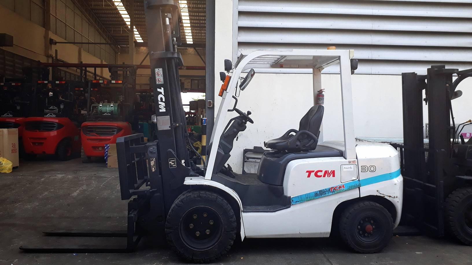 TCM FORKLIFT COUNTER FD30T3Z-VM400, DIESEL, 3 TON