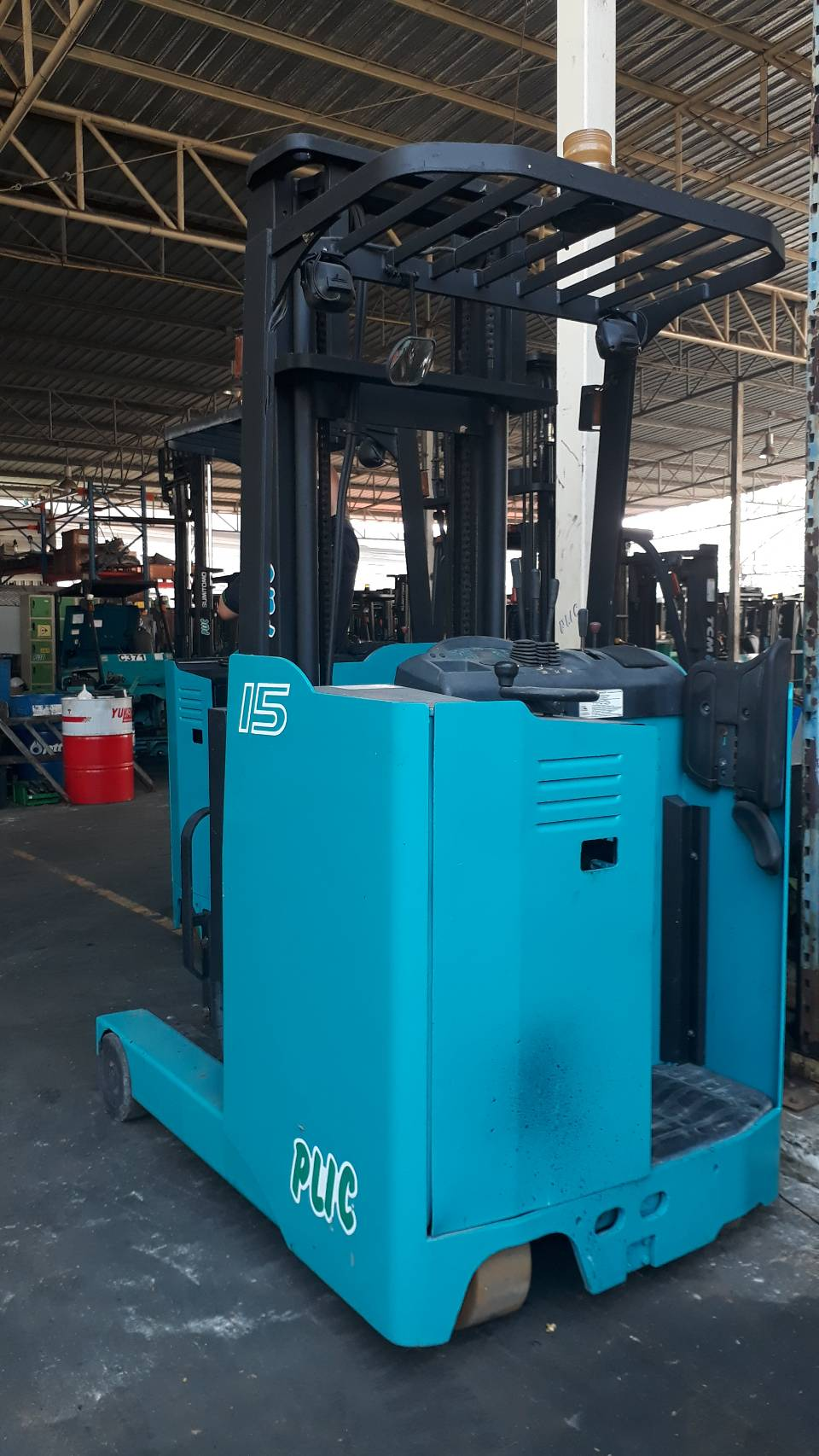 SHINKO FORKLIFT REACH 8FBR15X-V400, BATTERY, 1.5 TON