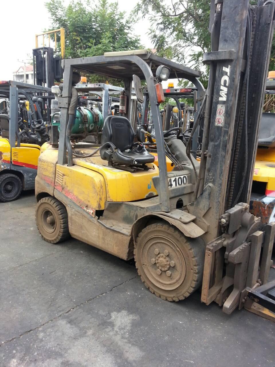 TCM FORKLIFT COUNTER FHG30T3-VM400, LPG, 3 TON
