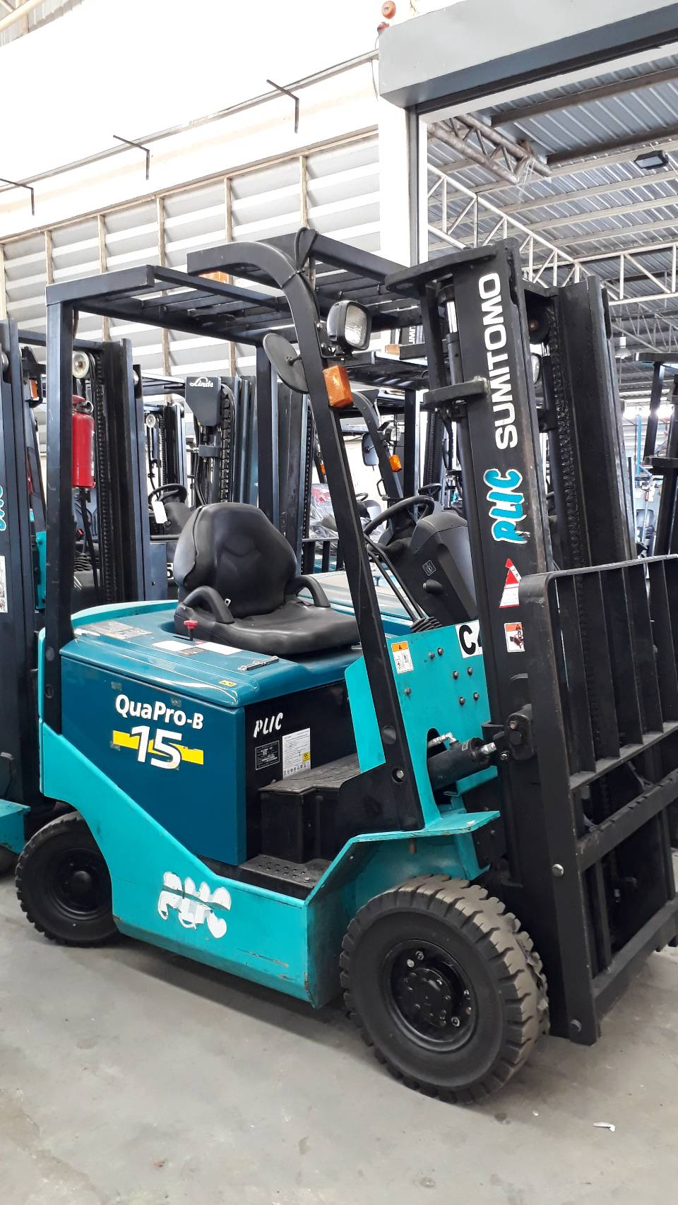 SUMITOMO FORKLIFT COUNTER 8FB15PXII-V300, BATTERY, 1.5 Ton