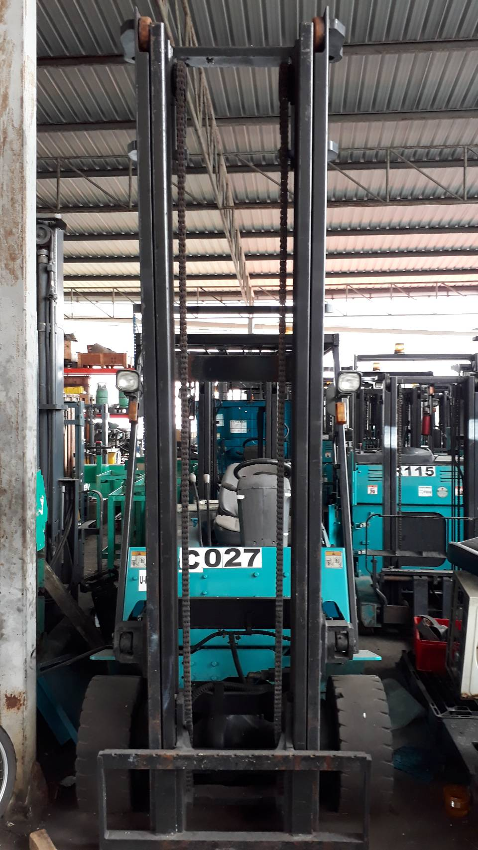 SUMITOMO FORKLIFT COUNTER 8FB30PZX-V3035, BATTERY, 3 TON